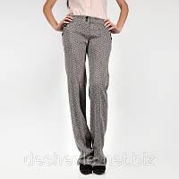 Купить классические женские серые брюки  Арт.0386-bvgrey купить турецкие женские брюки дешево