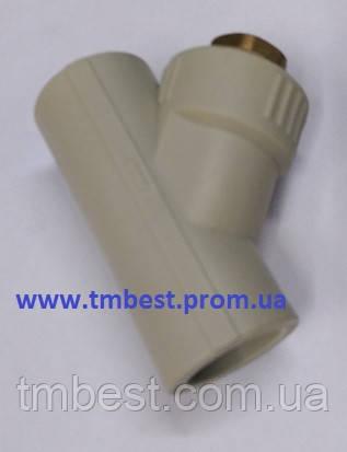 Фильтр 32 грубой очистки полипропиленовый ППР, фото 2