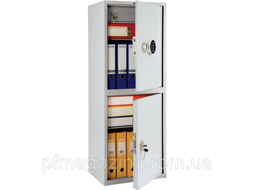 Шкаф бухгалтерский SL-125/2T EL (ВхШхГ-1252х460х340)