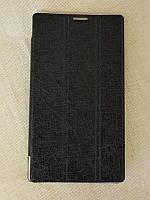 Кожаный чехол-книжка для планшета Lenovo A5500 с функцией подставки TTX Tri-fold, фото 1
