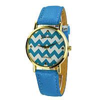 Часы женские Арт.020GENL.blue копия-реплика швейцарских часов недорого