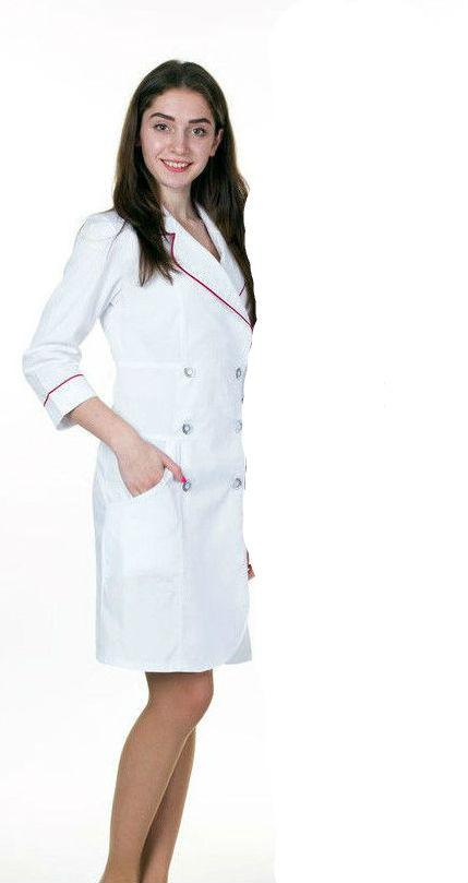Жіночий медичний халат, різні кольори, р. 40-54