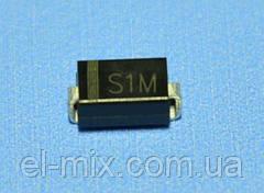 SMD-диод выпрямительный S1M  Toshiba
