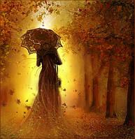 """Набор алмазной вышивки (мозаики) """"Осенняя прогулка"""""""