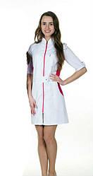 Жіночий медичний халат, різні кольори, р. 40-60