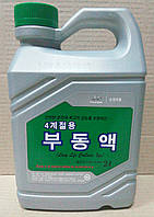 Антифриз Hyundai Kia Long Life Coolant зеленый 2 л. (07100-00200)