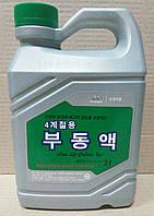 Антифриз Hyundai Kia Long Life Coolant зеленый 2 л. (07100-00200)