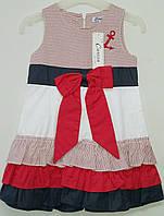 """Платье для девочек """"морячка"""""""