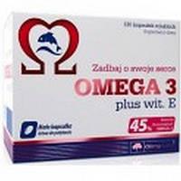 Omega 3 45% Vitamin E 120капс