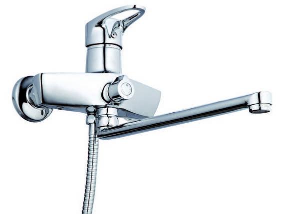 Смеситель для ванны Zegor Z63-NKE-A180 Euro, фото 2