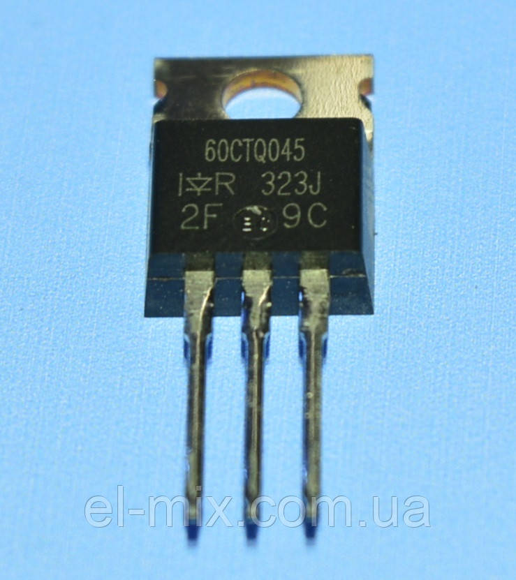 Діод Шотткі подвійний 60CTQ045 TO-220 IR