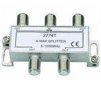 Splitter 4-way Germany HQ 5-1000MHZ, корпус металлический