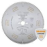 Пильный диск для раскроя ДСП, МДФ, OSB, фанеры - ORANGE CHROME, D = 250 мм. (СМТ, Италия)