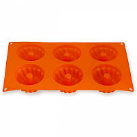 Форма силиконовая для заморозки и выпекания 29*17*3.5см Арт. 7728