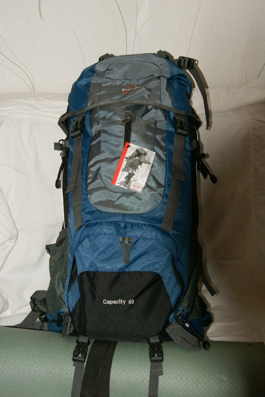 Рюкзак для туризма Leacom 60 л., туристический рюкзак Лиаком ( код: IBR003SZ )