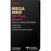 GNC Mega Men 50 Plus 120 caplets, фото 1