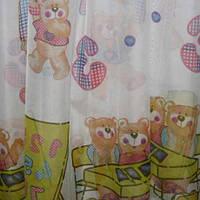 Готовые шторы в детскую на тесьме, 150СМХ270СМ