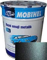 """627 Автоэмаль базовая """"металлик"""" Helios Mobihel """"Жимолость"""", 1л"""