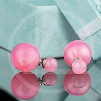Серьги Диор жемчуг Mise en Dior Арт.032-2SR заказать серьги недорого оптом