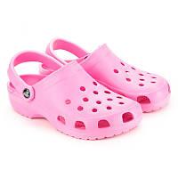 Розовые кроксы - модная обувь 2017 женские/подростковые 62040-216baby-pink