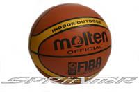 Мяч баскетбол PVC-MO12 MOLTEN GL7