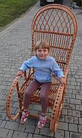 Кресло качалка большое. Плетенное из лозы! Акция!, фото 1