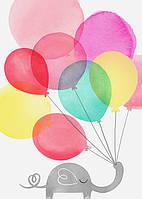 Малыш и воздушный шарик