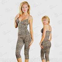 """Красивый комплект двойка """"ONDER ISIK"""" (майка + бриджи) норма Арт. ONDR2327 магазин домашних комплектов для дома"""