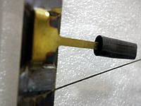 Стекло задней двери с обогревом на Таврию ЗАЗ-1102. Оригинальное стекло крышки багажника 11021-6303014-10, фото 1