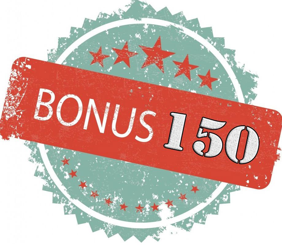 Бонус 150