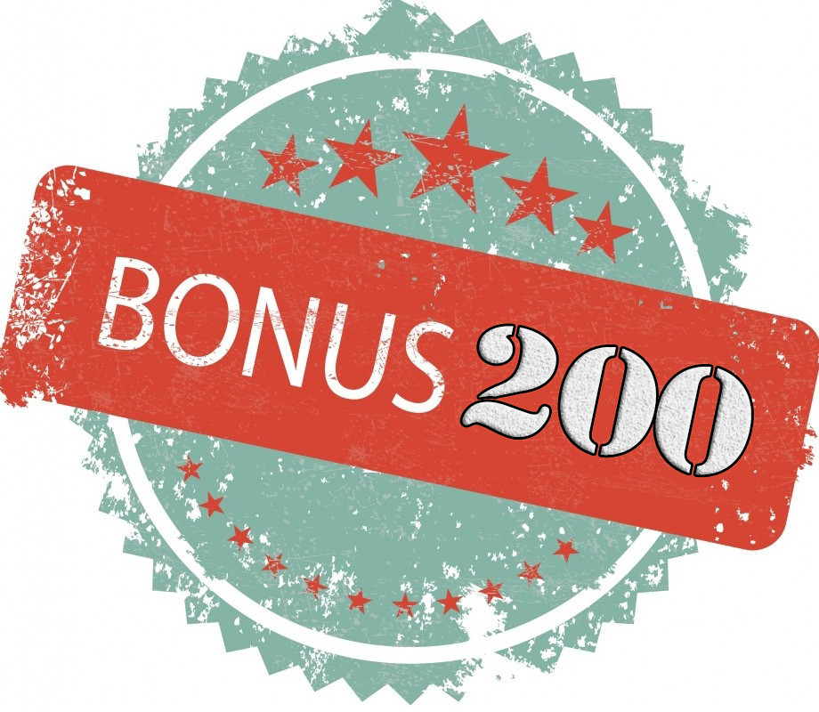 Бонус 200