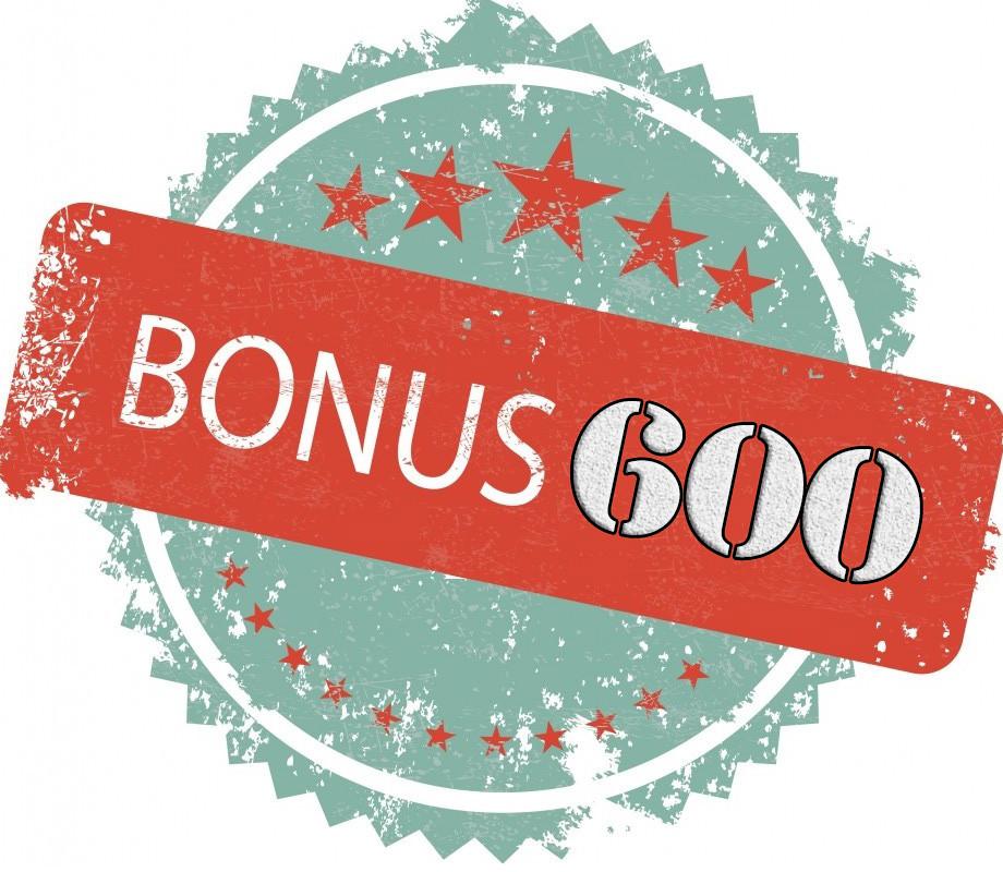 Бонус 600