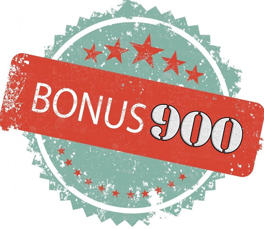 Бонус 900