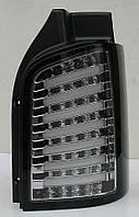 Volkswagen T5 оптика задняя хром LED tube