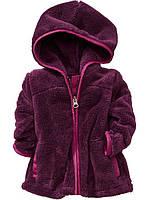 Флисовое пальтишко OLD NAVY для девочек, 12-18, 18-24 мес, 2Т, 3Т.