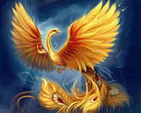 """Набор алмазной вышивки (мозаики) """"Птица Феникс-символ возрождения"""""""