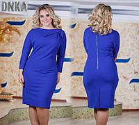 Платье женское большие размеры (цвета) /бат д62, фото 1