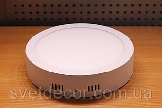 Светильник накладной светодиодный Feron AL504 12W 4000К LED панель круг