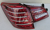 Subaru Outback B14 фонари задние светодиодные LED тонированые красные BR9