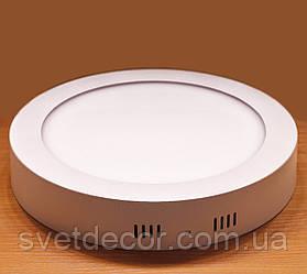 Светильник накладной светодиодный Feron AL504 18W 4000К LED панель круг