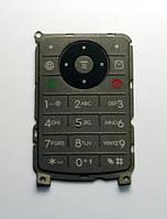 Клавиатура для Motorola W375, Серая /Кнопки/Клавиши /моторола