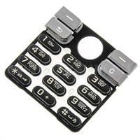 Клавиатура для Sony Ericsson K510, Черная /Кнопки/Клавиши /сони эриксон