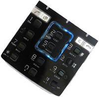 Клавиатура для Sony Ericsson K850i, High Copy, Черный с синим /Кнопки/Клавиши /сони эриксон