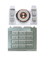 Клавиатура для Sony Ericsson S500i, Серая /Кнопки/Клавиши /сони эриксон