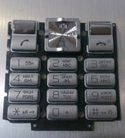 Клавиатура для Sony Ericsson T250, Серая /Кнопки/Клавиши /сони эриксон