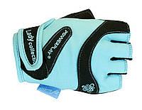 Прочные перчатки с двойным швом для женщин. Бирюзовый