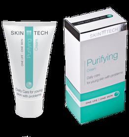 Skin Tech Очищающий крем,50 мл.