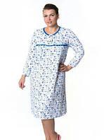 Женская длинная ночная рубашка LA-15
