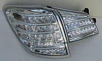 Subaru Outback фонари задние светодиодные LED хром BR9