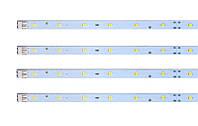 Светодиодный модуль линейка 18LED EVERLIGHT